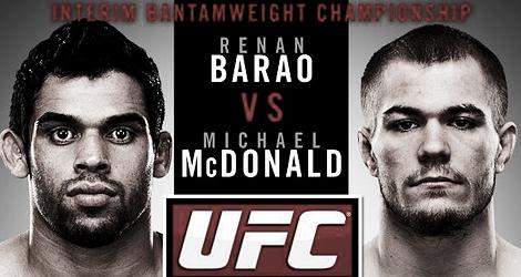 UFC on Fuel TV 7: Barao vs McDonald