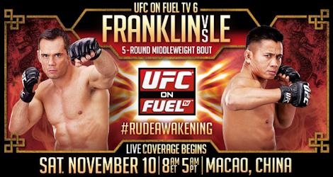 UFC on Fuel TV 6: Franklin vs Le