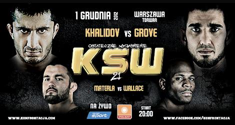 KSW 21: Khalidov vs Grove