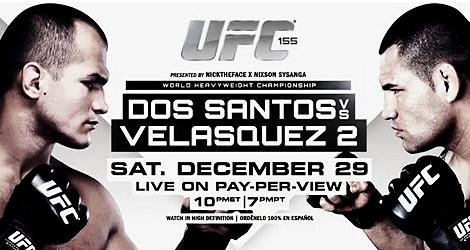 UFC 155: Dos Santos vs Velasquez