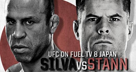 UFC on Fuel TV 8: Silva vs Stann