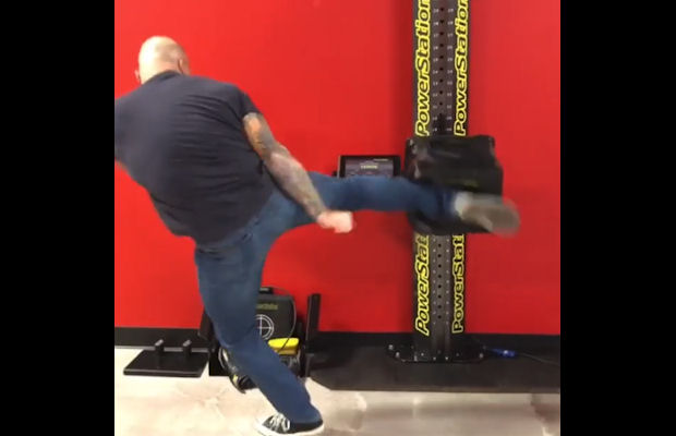 Joe Rogan bije rekord siły uderzenia Francisa Nganou - video
